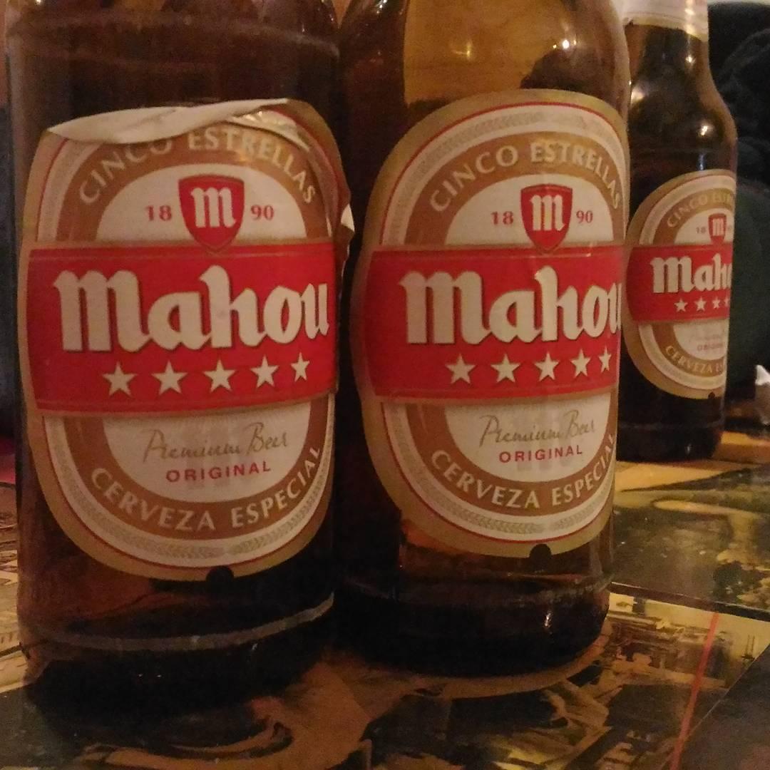 Mahou. Not bad